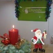 Zahnarzt Krefeld Michail Golmann wünscht Ihnen ein frohes Weihnachtsfest!