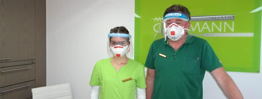 Zahnarzt Krefeld. Corona Virus.